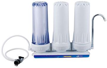 Triple countertop water filter EWC-J-N5