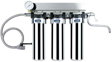 Stailess steel undersink water filter  EWC-J-SS