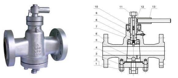 Class 150~900 Inverted Pressure Balance Lubricated Plug Valve