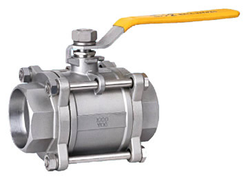 Class 150~1500 3 PC Thread Ball Valve