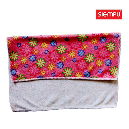 Microfiber Jacquard Cleaning Towel(XQK-C022)